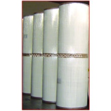 High strength carrier tissue paper